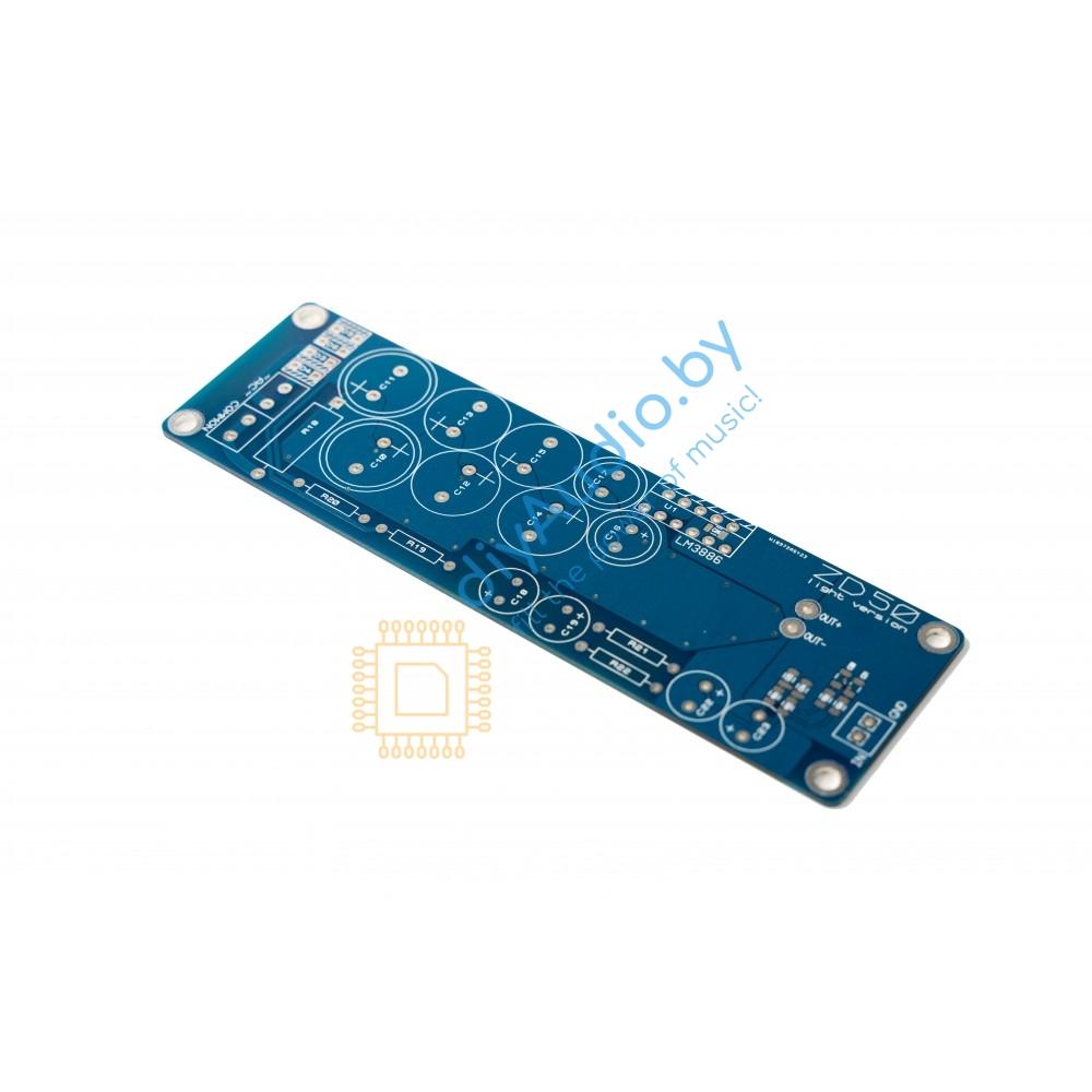 Плата УМ LM3886 Valday (ZD-50 light)