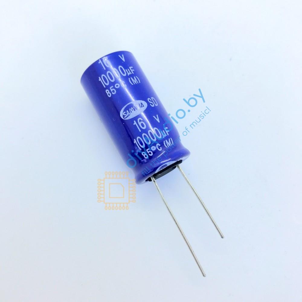 Конденсатор Samwha SD 10000uF x 16V